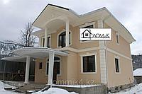 Фасадно декоративные элементы: карниз, угловые элементы, колонны, обрамление окон