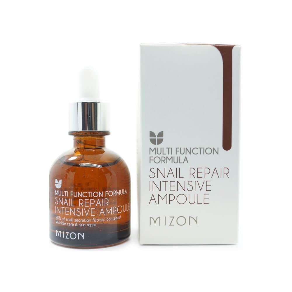 Сыворотка для лица Mizon Snail Repair intensive Ampoule 30ml. (для зрелой кожи)