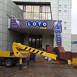 Диодная рекламная вывеска г.Астана, фото 6