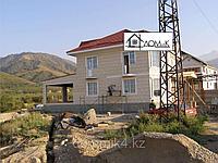 Отделка фасада дома термопанелями