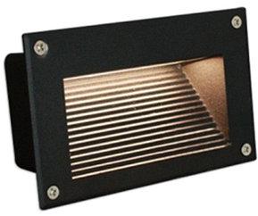 Грунтовый светодиодный светильник с угловым свечением