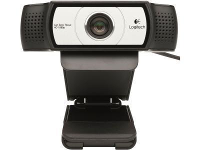 Веб-камера Logitech C930e, черный