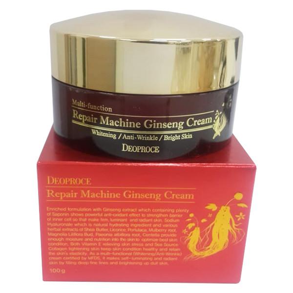 Крем для лица  Deoproce Repair Machine  Ginseng Cream 100g. (женьшень)
