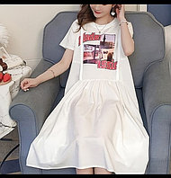 Платье для беременных и кормящих! С секретным замком!