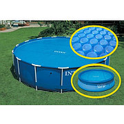 Солнечный тент для бассейнов диаметром 305см, Intex 29021