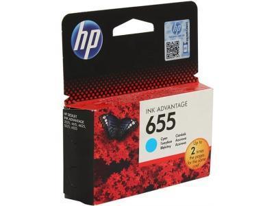 Картриджи HP CZ110AE 655 Cyan