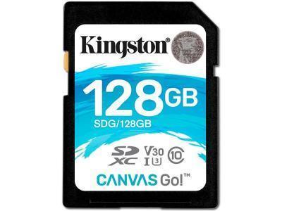 Карта памяти Kingston Canvas Go SDG 128GB