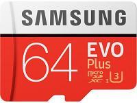 Карта памяти Samsung EVO Plus MB-MC64GA/RU