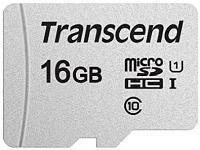 Карта памяти Transcend TS16GUSD300S 16Gb