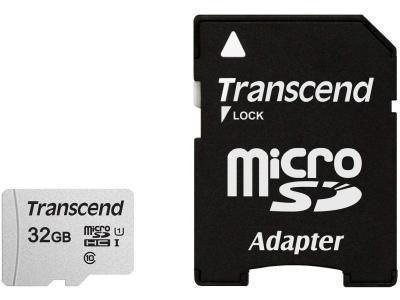 Карта памяти Transcend TS32GUSD300S-A 32Gb