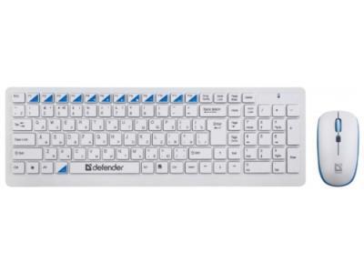 Клавиатура Defender Skyline 895 Nano USB + мышь