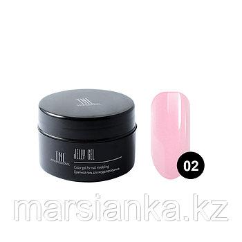 Гель-желе TNL #02 Камуфлирующий розовый, 18мл