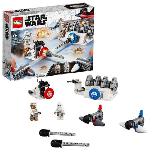 LEGO Star Wars 75239 Конструктор Лего Звездные Войны Разрушение генераторов на Хоте