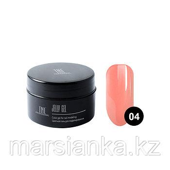 Гель-желе TNL #04 Камуфлирующий розово персиковый, 18мл