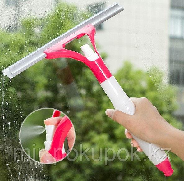 Спрей щетка для мытья окон (щетка с распылителем), Алматы