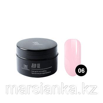 Гель-желе TNL #06 Камуфлирующий бледно розовый, 18мл