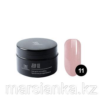 Гель-желе TNL #11 Камуфлирующий дымчато розовый, 18мл