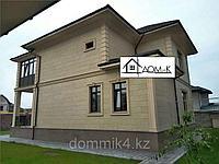 Декоративная отделка фасадов частных домов
