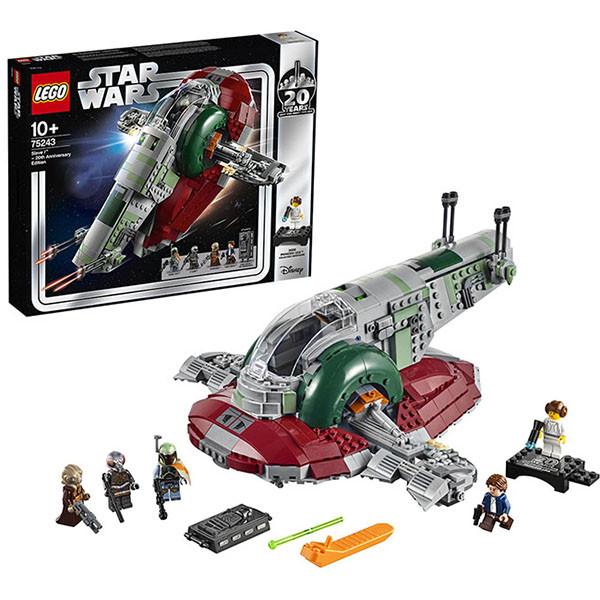 LEGO Star Wars 75243 Конструктор Лего Звездные Войны Раб I выпуск к 20-летнему юбилею