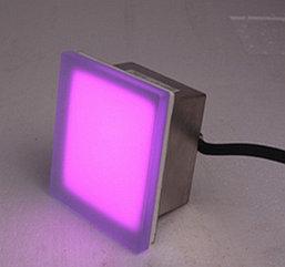 Грунтовый светодиодный светильник-кирпич