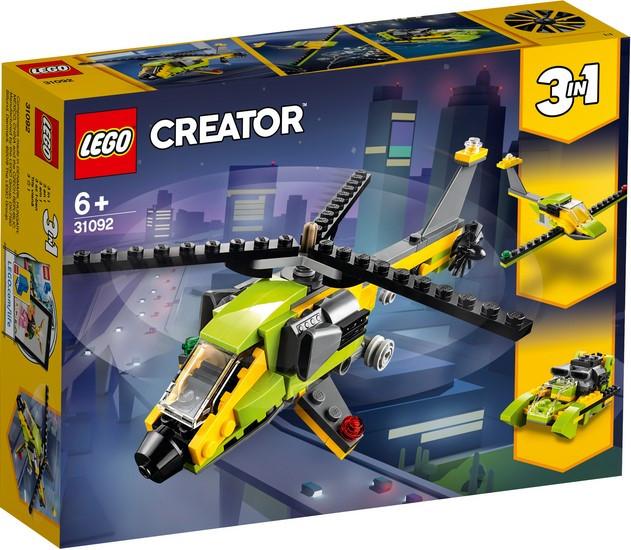 31092 Lego Creator Приключения на вертолёте, Лего Криэйтор