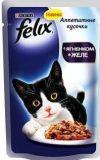 Felix, с Ягненком Феликс Влажный корм кусочки для кошек, 85г