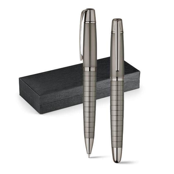 Набор из роллера и шариковой ручки | в подарочной упаковке | Металл