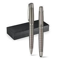 Набор из роллера и шариковой ручки   в подарочной упаковке   Металл