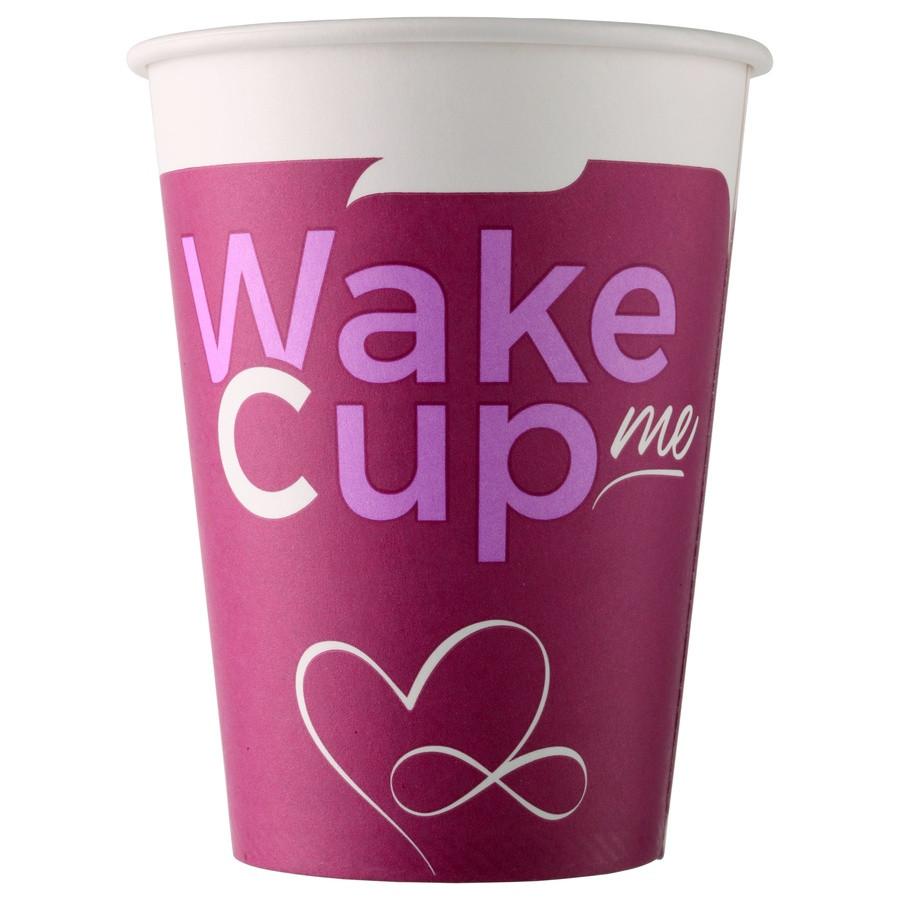 Стакан бумажный Wake Cup Me для гор. напитков, 300мл
