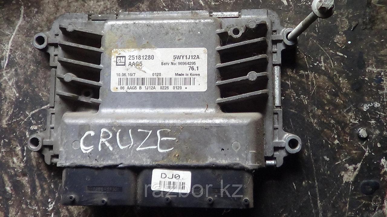 Блок управления двигателем Chevrolet Cruze