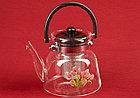 Чайник заварочный стеклянный 550 мл, фото 2
