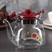 Чайник заварочный стеклянный 750 мл