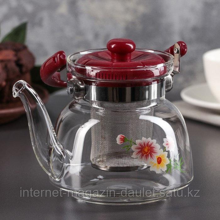 Чайник заварочный стеклянный 850 мл