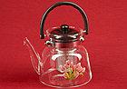 Чайник заварочный стеклянный 850 мл, фото 2