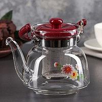 Чайник заварочный стеклянный 1100мл