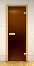 Дверь стеклянная для сауны и бани 8мм