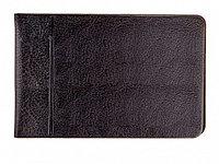 Кредитница OfficeSpace на 16 карт, ПВХ, горизонтальная, черная
