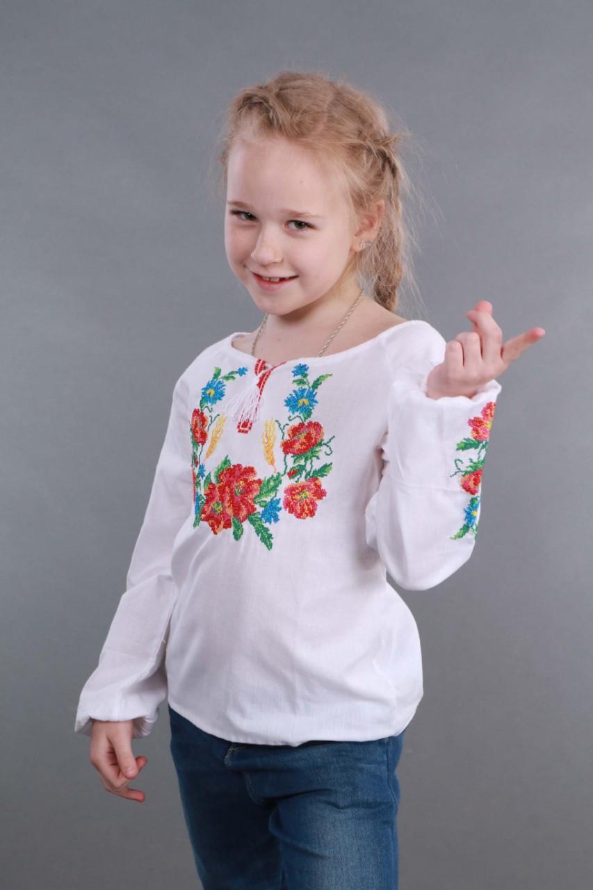 Вышиванка для девочки Веночек - фото 6