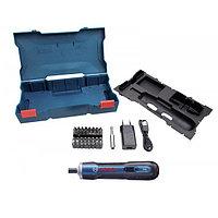 Аккумуляторная отвертка Bosch GO kit