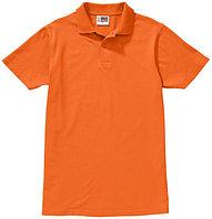 Рубашка-поло First, цвет оранжевый, размер L