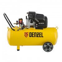 Компрессор воздушный DKV2200/100,Х-PRO 2.2 кВт, 400 л/мин, 100л. Denzel, 58079, фото 1
