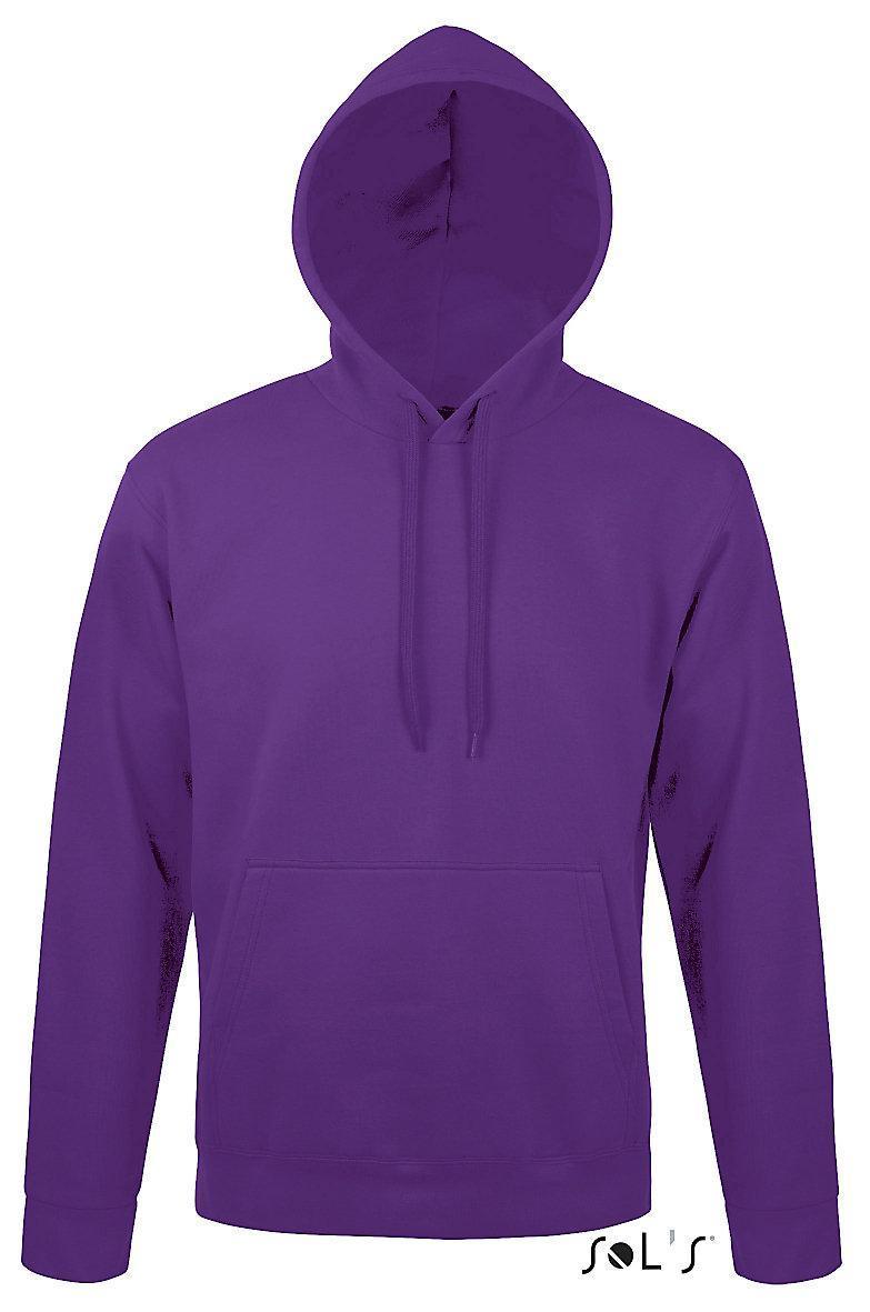 Свитшот унисекс с капюшоном SNAKE, фиолетовый, размер М