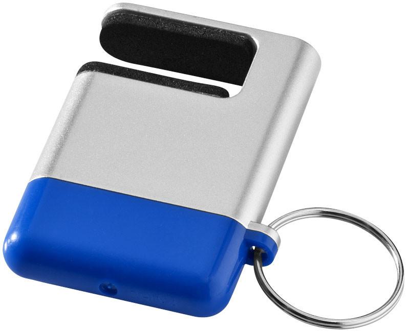 Очиститель экрана и подставка для смартфона Gogo. Цвет серый/синий