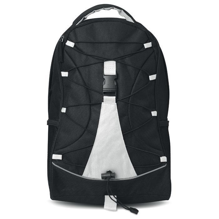 Черный рюкзак из полиэстера
