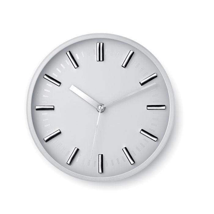 Настенные часы. 1 батарейка типа АА в комплект не входит. Цвет Белый.