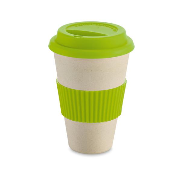 Кружка для кофе ECO MUG, цвет зеленый. 450 мл.