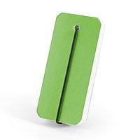 Блокнот 5,5х12 сантиметров. Цвет зеленый.