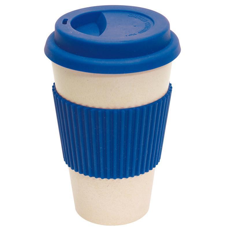 Кружка для кофе ECO MUG, цвет синий. 380 мл.