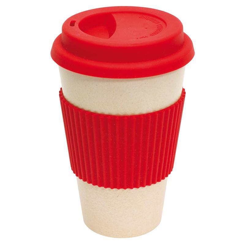 Кружка для кофе ECO MUG, цвет красный. 380 мл.