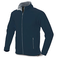 Мужская флисовая куртка, цвет синий, размер XL